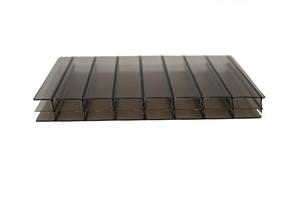 bronze triple wall polycarbonate sheet
