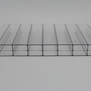 clear triple wall polycarbonate sheet