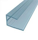 multi wall polycarbonate u profile