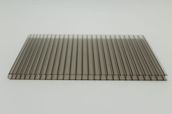 bronze twin wall polycarbonate sheet