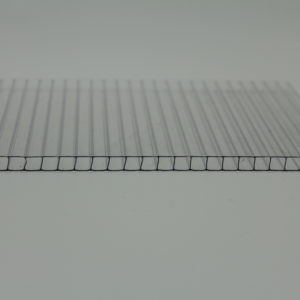 clear twin wall polycarbonate sheet