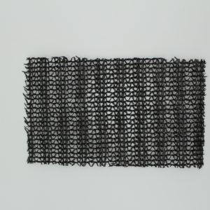 Knitted Shade Cloth - Black 60