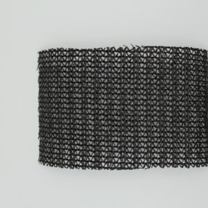 Knitted Shade Cloth - Black 80