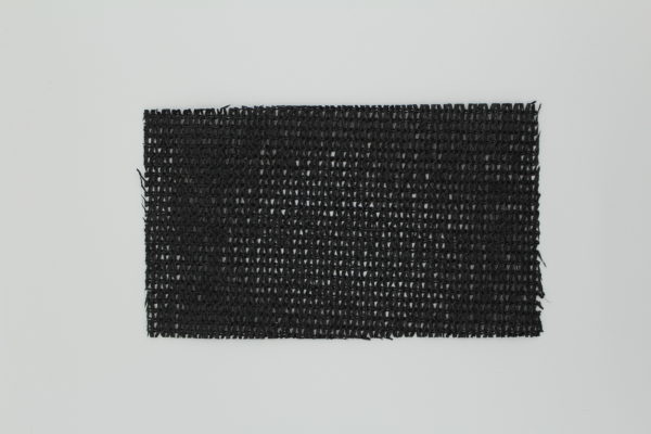 Knitted Shade Cloth - Black 90