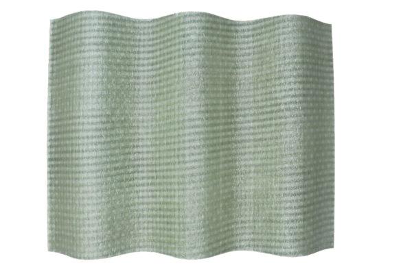 walkable fiberglass sheet - 16oz - fire rated - translucent frost color