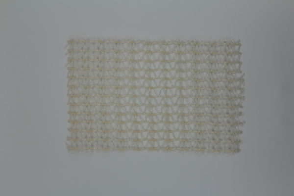 knitted shade cloth pearl white 22