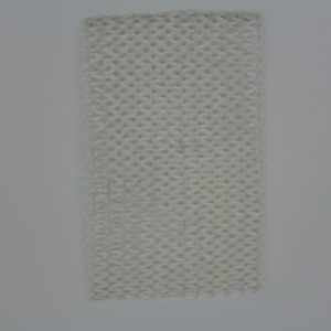 knitted shade cloth pearl white 40