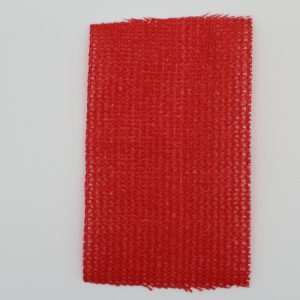 knitted shade cloth red 80