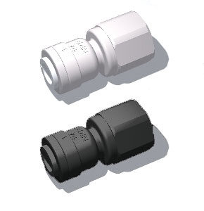 plastic quick connect nozzle adaptor