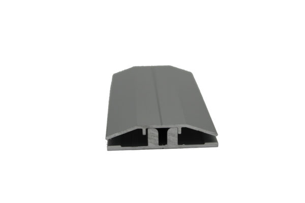 two piece aluminum base and cap h profile